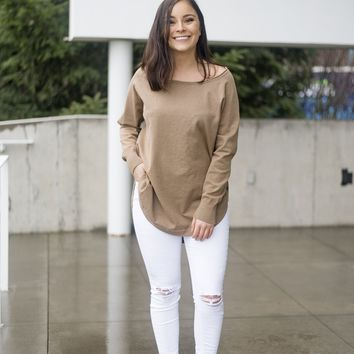 Easy Does It Tunic Sweater