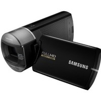 Samsung HMX-Q10 HD Camcorder Ultra Compact with 10x Optical Zoom (Black)