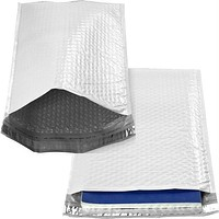 100 Poly Bubble Mailers #3 Self Sealing - 8.5 x 13.75 inch