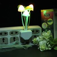 Cute Mushroom Shape Design LED Light Nightlight Bed Lamp