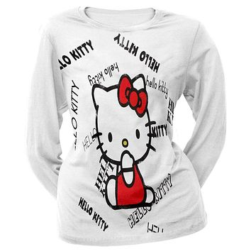 Hello Kitty - Namesake Juniors Long Sleeve T-Shirt