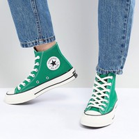 Converse Chuck '70 hi sneakers in green at asos.com