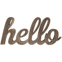 Wood Stain Hello Word | Shop Hobby Lobby