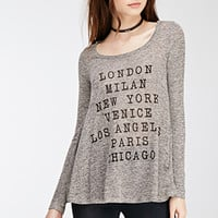Cities Graphic Trapeze Top