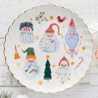 Noel Canape Plate