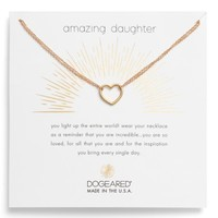 Dogeared Amazing Daughter Pendant Necklace | Nordstrom