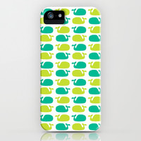 Whale Tale iPhone & iPod Case by Elizabeth May