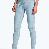 Lara High Rise Super Skinny Jeans