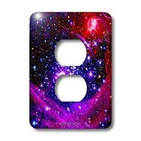 3dRose lsp_76827_6 Galaxy and Nebula Milky Way Galaxy Light Switch Cover