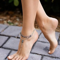 Free People Fading Rays Anklet Set