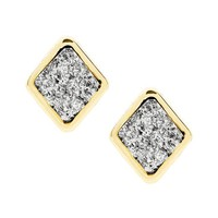 Banana Republic Geo Sparkle Stud Earring Size One Size - Mixed metal