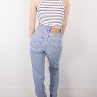 Vintage (XS) Levis 550 High Waisted Denim Jeans