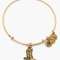 Women's Alex and Ani 'Cowboy Boot' Expandable Wire Bracelet