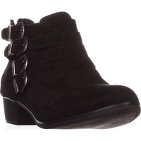 AR35 Darie Strappy Ankle Boots, Black, 9.5 US