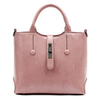 Leather Medium Handbag