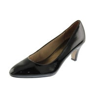 Josmo Womens Sable Patent Heels Pumps