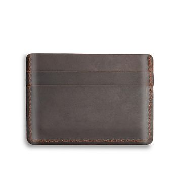 Brown Six Card Case