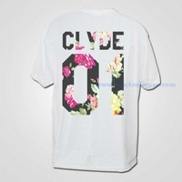 Clyde Vintage Floral 01 T Shirt - Mpcteehouse