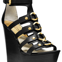 MICHAEL Michael Kors Nadine Platform Wedge Sandals