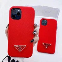 PRADA iPhone Cover Case For iphone 7 7plus 8 8plus X XR XS MAX 11 Pro Max 12 Mini 12 Pro Max