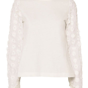 See By Chloé Floral Sleeve Tee - INTERMIX®