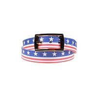 Americana Throwback Belt with Gold Chrome Buckle by C4 Belts