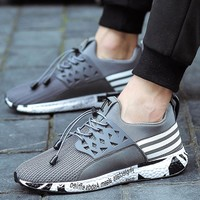 Joomra Brand Design Running Shoes for Men Trainers Telescopic rope Soft Bottom Mesh Sneakers Shoes Men zapatos de hombre