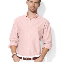Polo Ralph Lauren Classic-Fit Solid Oxford Sport Shirt