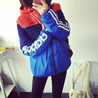 Simple - Autumn Sporty Hoodie Jacket c0049