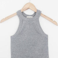 Beverly Ribbed Tank Top