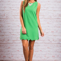 See You On The Dance Floor Dress, Green