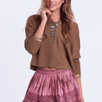The Setting Sun Lace Skirt By Raga