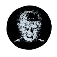 Pinhead Hellraiser Patch Iron on Applique Alternative Clothing Cenobite