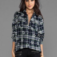 MINKPINK Potters Field Button Up Shirt in Multi from REVOLVEclothing.com