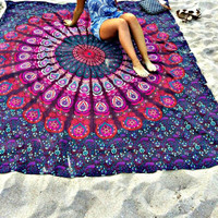 The Bohemian Mandala Wall Tapestry
