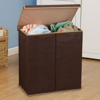 Double Hamper Laundry Sorter With Magnetic and 50 Similar Items