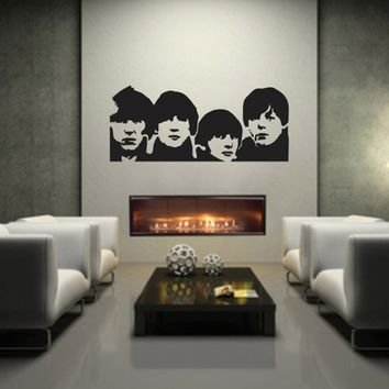 Beatles - Vinyl Wall Art Words Lettering Decal Decor