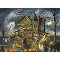 Haunted Haven Halloween Jigsaw Puzzle - Puzzle Haven