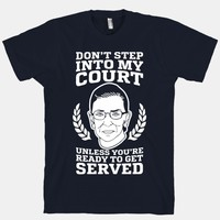 Don't Step Into My Court