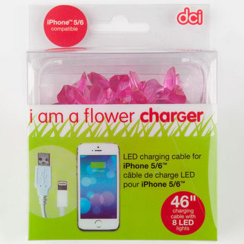 Dci Led Flower Phone Charger Pink One Size For Women 26439735001