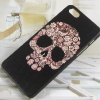 New Hot Rhinestone Crystal Skull with Beard Case for Iphone5c Case Iphone 5c Case
