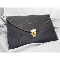 Large Leather Wallet Card Holder Clutch Pouch