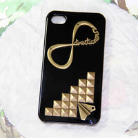 bronze punk style rivet one direction iPhone case airplane iphone 4 4s 5 case 1D directioner phone case friendship love gifts trending