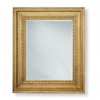 """Victorian Ensemble Mirror with Ornate Moldings 48"""" x 86"""""""