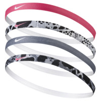 NIKE GIRL'S ASSORTED HEADBANDS 4PK
