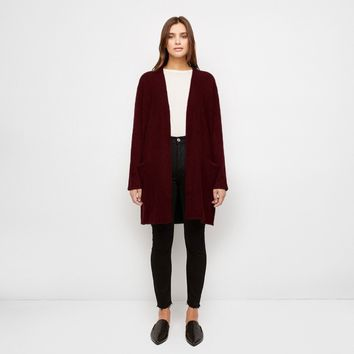 Sweater Coat - Wine
