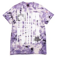 Power S/S T-Shirt Purple Tie-Dye
