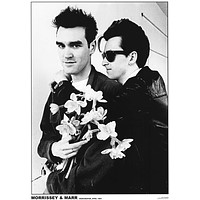 The Smiths Morrissey and Johnny Marr Poster 24x33