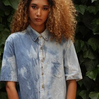 Tidal Overdyed Denim Shirt