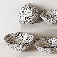 Attingham Measuring Cups by Anthropologie Black Motif Measuring Cup